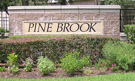 Pine Brook Entrance